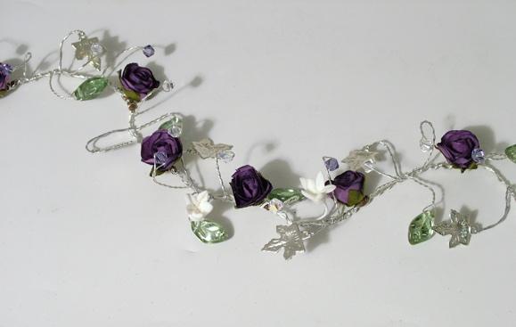 Rose hair vine with ivy leaves