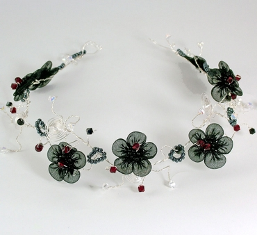 Goth Wedding Hair Accessories
