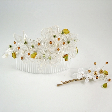 Vintage Wedding Hair Vines and Hair Accessories